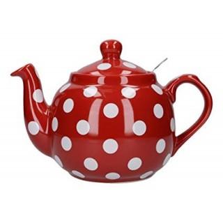 London Pottery Tetera Roja...