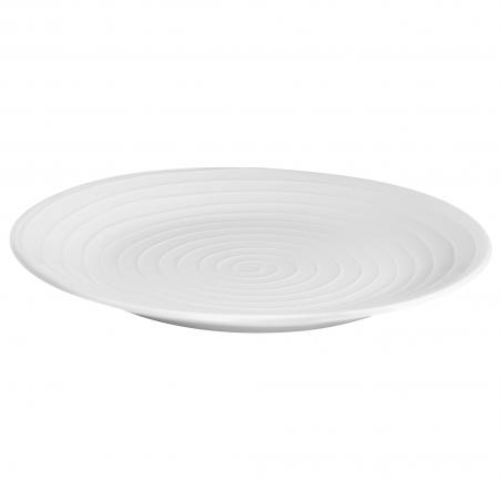 Blond Round Serving Plate...
