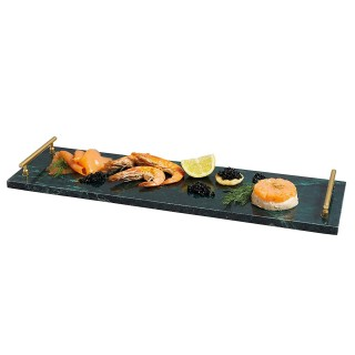 Serving Plate Marble Green...