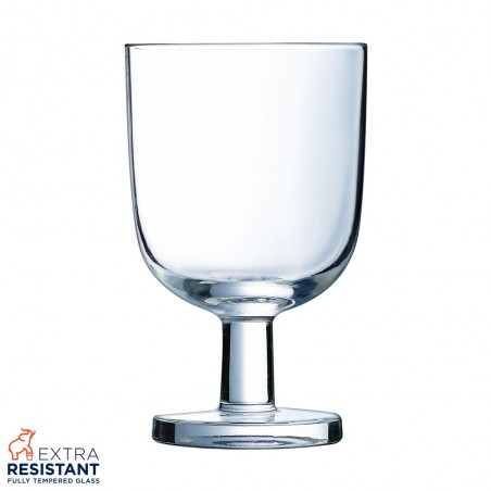 6 Wine/water Glasses 25cl