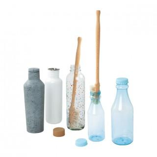 Cepillo limpiador botellas...
