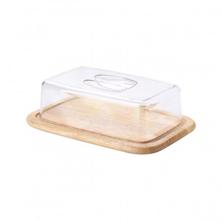 Cheese board with lid