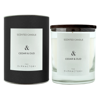 Vela Perfumada Cedar & Oud ·&·