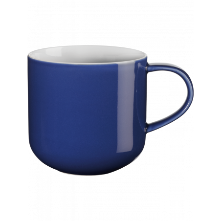 Mug with handle, blue