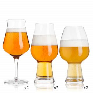 Beer Glass Birrateque Set 6...