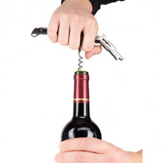 Sommelier's corkscrew with...