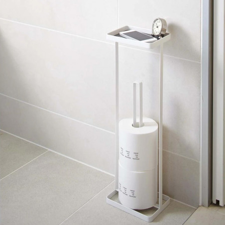 Toilet Paper Stand with Tray